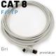 IRENIS CAT8 F/FTP LSZH Ethernet Patch Kablo, 1m