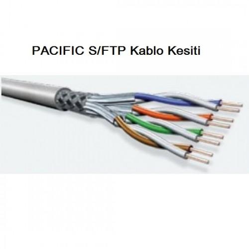 PACIFIC CAT8 S/FTP LSZH Ethernet Patch Kablo, 3m