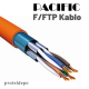 IRENIS CAT8 F/FTP LSZH Ethernet Patch Kablo, 25cm
