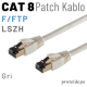 PACIFIC CAT8 F/FTP LSZH Ethernet Patch Kablo, 25cm