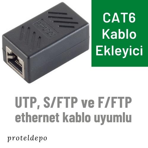 CAT6 Ethernet Kablo Ekleyici, Uzatma Aparatı