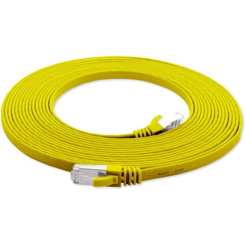 CAT7 FTP Yassı  Ethernet (İnternet, Network) Kablosu 15m