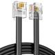 IRENIS RJ11 ADSL Modem ve Telefon Hat Bağlantı Kablosu 3 Metre