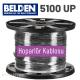 BELDEN 5100UP Hoparlör Kablosu, 2 İletken 14 AWG (İstediğiniz uzunlukta sipariş edebilirsiniz)