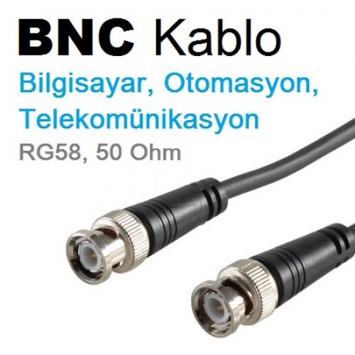 PACIFIC 50 Ohm BNC Kablo 5m