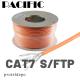 IRENIS Cat.7 S/FTP Kablo (istediğiniz uzunlukta sipariş edebilirsiniz)