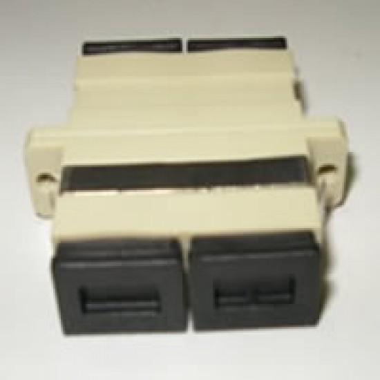 Fiber Optik SC/SC MM Duplex Adaptör